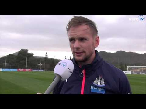 Siem de Jong speaks about his recovery from eye injury