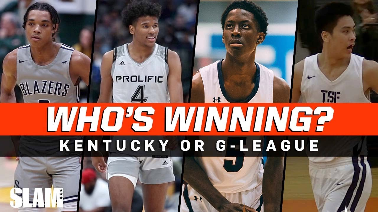 Kentucky vs G-League 🔥 Which squad are you taking ⁉️🍿