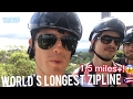 Longest Zipline in the World! 🌎 The Monster Puerto Rico Travel Vlog 🇵🇷 World Trip Finale, Ep.20!
