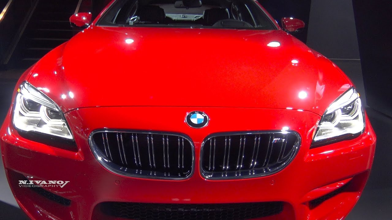 2018 bmw m6 gran coupe exterior and interior walkaround la auto show 2017 youtube. Black Bedroom Furniture Sets. Home Design Ideas