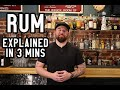 RUM - Everything you need to know in 3 minutes...ish   Bootsy Guide