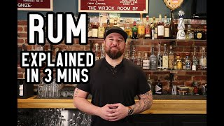 RUM - Everything you need to know in 3 minutes...ish | Bootsy Guide