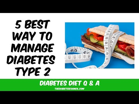 Recently Been Diagnosed With Type 2 Diabetes: Which Kind Of Diet Is Best For Me