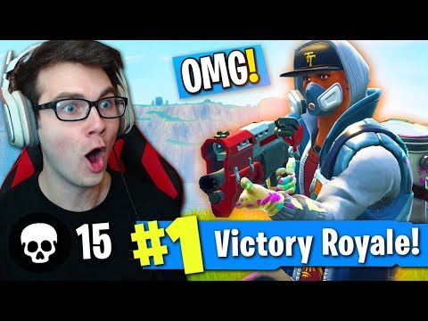 """ONE OF MY *BEST WINS EVER* ON FORTNITE! (NEW """"ABSTRAKT"""" SKIN MADE ME UNSTOPPABLE!)"""