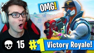 "ONE OF MY *BEST WINS EVER* ON FORTNITE! (NEW ""ABSTRAKT"" SKIN MADE ME UNSTOPPABLE!)"