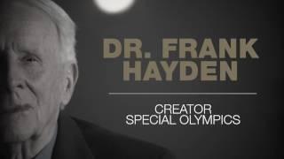 2016 Inductee Dr. Frank Hayden - Creator Special Olympics - Teaser 1