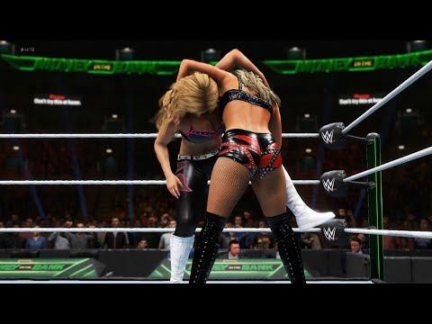 WWE 2K20 - Toni Storm vs Natalya.