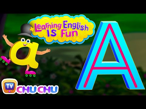 "Thumbnail: Learning English Is Fun™ | Alphabet ""A"" 