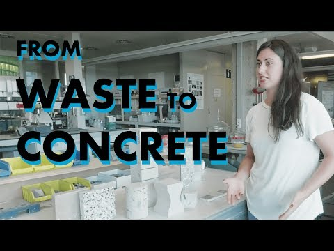 TU Delft TV: from waste to concrete