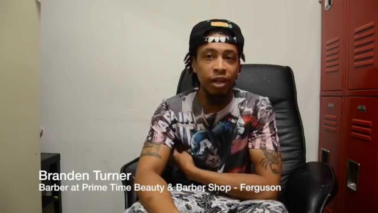 West Florissant Report: Prime Time Beauty & Barber Shop - YouTube