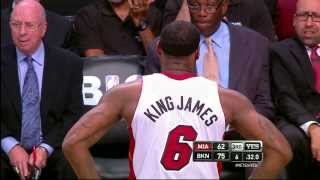 Repeat youtube video LeBron James 4th Career Foul Out | All 6 Fouls