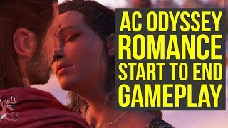 Assassin's Creed Odyssey Romance - Kyra & Alexios START TO END All Scenes (AC Odyssey Romance)