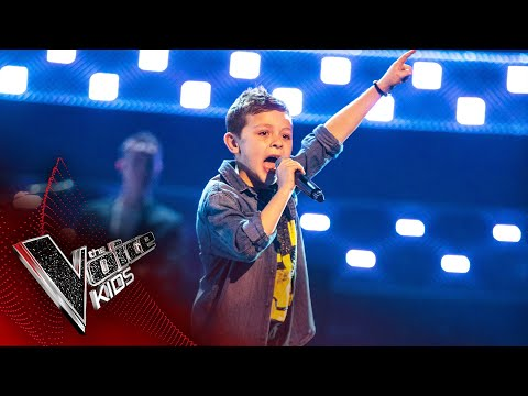 George Performs 'Plug In Baby' | Blind Auditions | The Voice Kids UK 2020