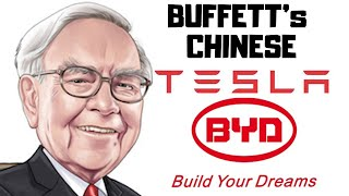 BYD Stock - The Chines Tesla Owned by Buffett