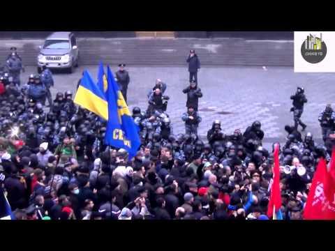Євромайдан Sturm Cabinet of Ministers of Ukraine
