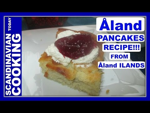 How To Make Aaland Pancakes | Recipe Inspired from Åland Island 🍴 #Åland #Aaland #pancakes