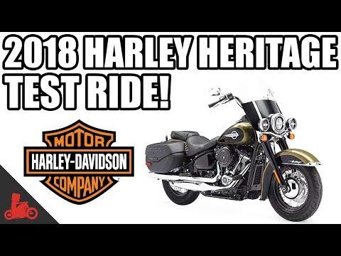 2018 Harley-Davidson Heritage Classic Test Ride!
