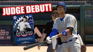 He Stared Down the Pitcher! 90 Aaron Judge Debut! - MLB The Show 18 Diamond Dynasty Gameplay