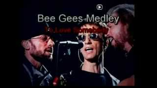 Karaoke-Bee Gees Medley-4 songs-Lanny Shum 岑南羚 MMM demo.mpg