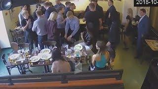 Полное видео драки Кокорина и Мамаева в кафе