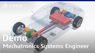 CATIA Mechatronic Systems Engineer