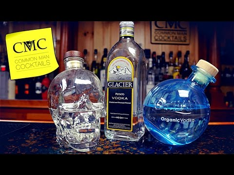 Vodka Blind Taste Battleground: Crystal Head, Teton Glacier