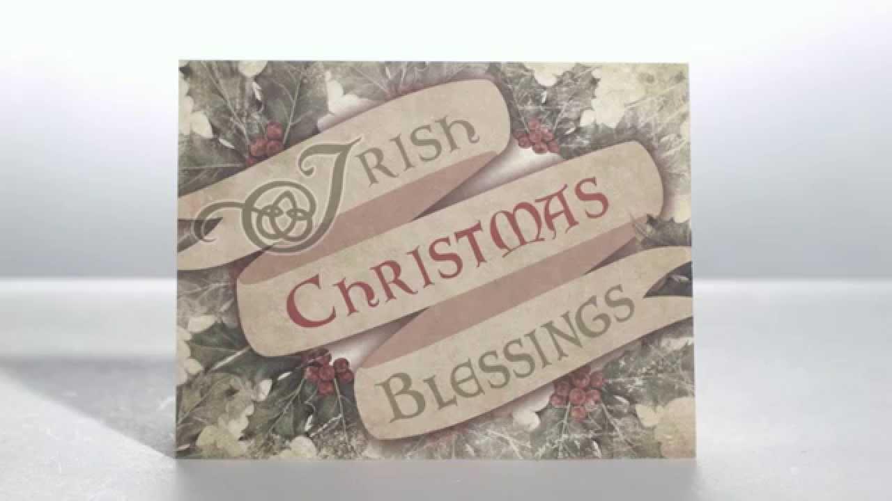 Irish Christmas Blessing Cards | The Catholic Company - YouTube