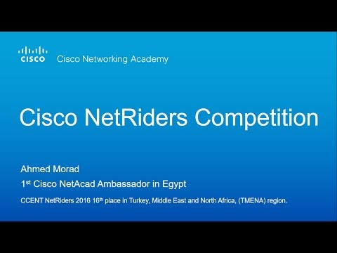 Cisco NetRiders Competition | Africa Region 2017