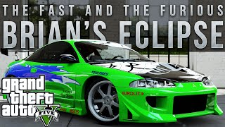 GTA 5 PC - Paul Walker's Fast and Furious Mitsubishi Eclipse (GTA V Drift Montage)