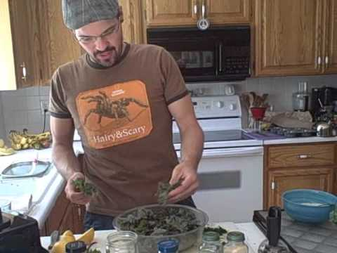Fun With Kale Chips!