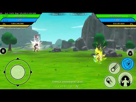 Rizotto Ultimate Sage Gameplay - The Final Power Level Warrior Mp3