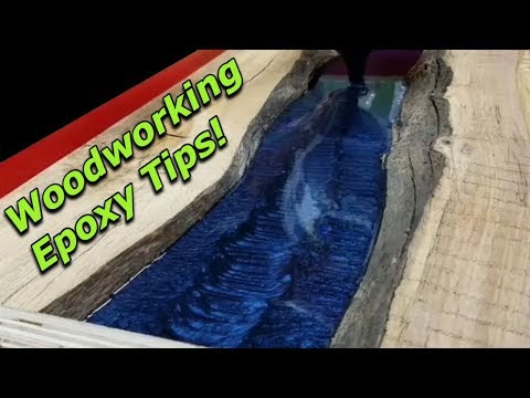 Epoxy Resin Tips and Tricks! | How To Use Epoxy With Wood!