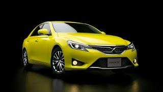 2015 Toyota Mark X Yellow Label Photos