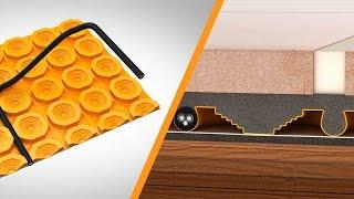 Riscaldamento elettrico su sottofondi in legno: le funzioni