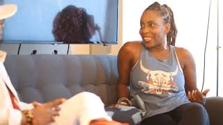 Pi lwen ke zye tv - show PLKZ Stéphanie Séjour Antoine ( Tifane )