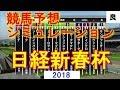 2018 日経新春杯 競馬予想シミュレーション by StarHorsePocket(SEGA)