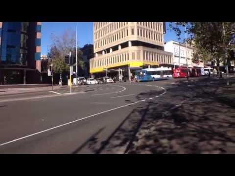 Sydney Bus Vlog 4: Sydney CBD - Elizabeth St