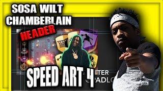 Speed Art Ep. 4 | INTRO TO Sosa Wilt Chamberlain