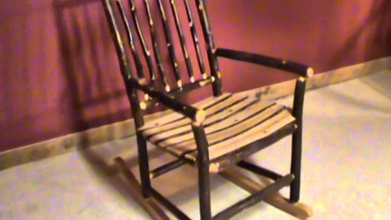 Good Rustic Twig Rocking Chair By VIENNAWOODWORKS.COM   YouTube