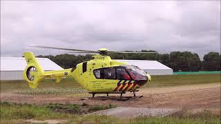 Inzet traumahelikopter bedrijfsongeval De Boender Noordwijk / Noordwijkerhout