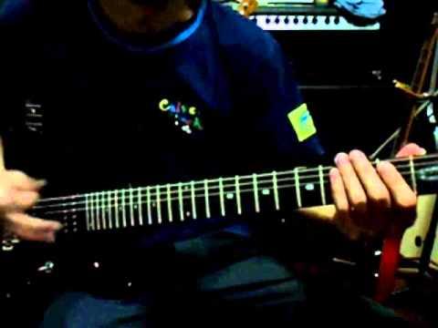 Ady Qays Guitar Jam - Metallica - Harvester Of Sorrow