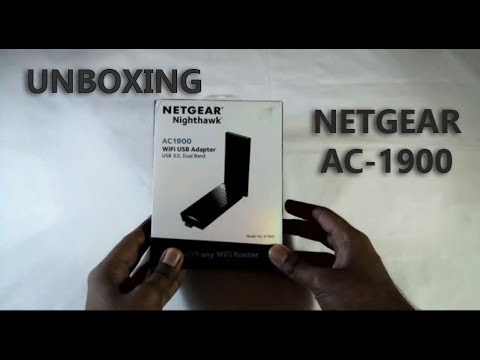Netgear Nighthawk AC1900 || High Speed Wifi Adapter || UNBOXING