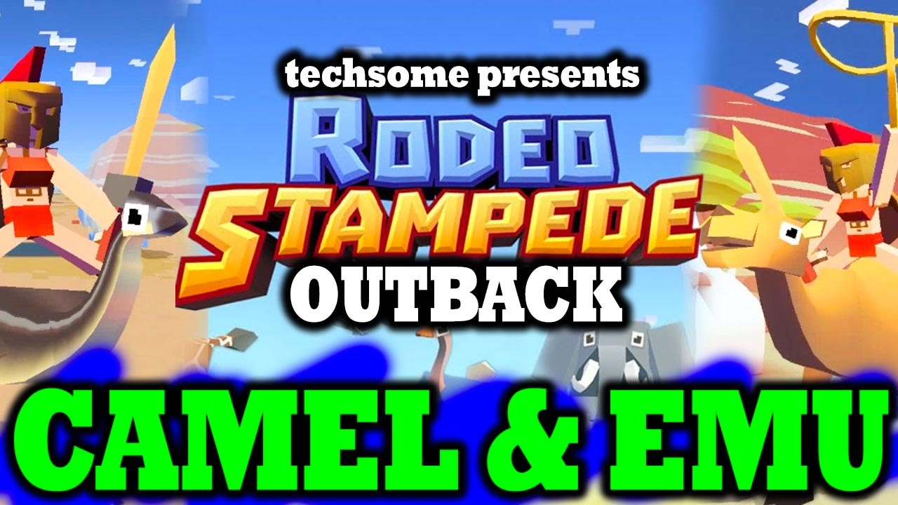 Rodeo Stampede Unlocking Camel Amp Emu New Animals