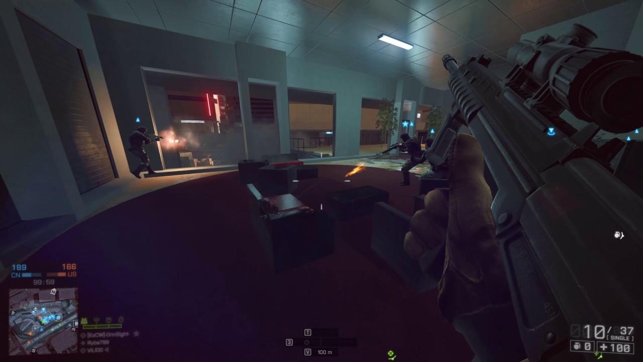 Download Battlefield 4 Loadout QBU-88 4x Scope+Lasersight Dawnbreaker