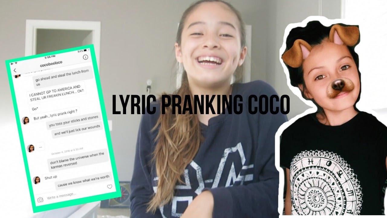 Download LYRIC PRANKING COCO (Geeks- Hailey Knox)
