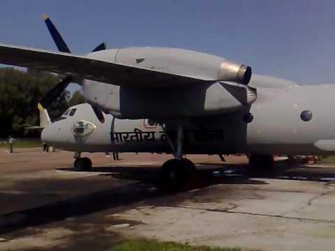 Antonov An-32 Test indian air force 2707