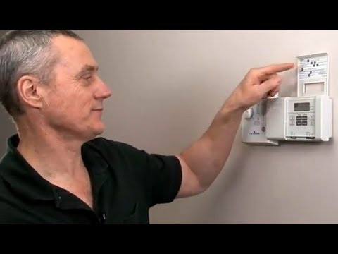 Programming your thermostat youtube.