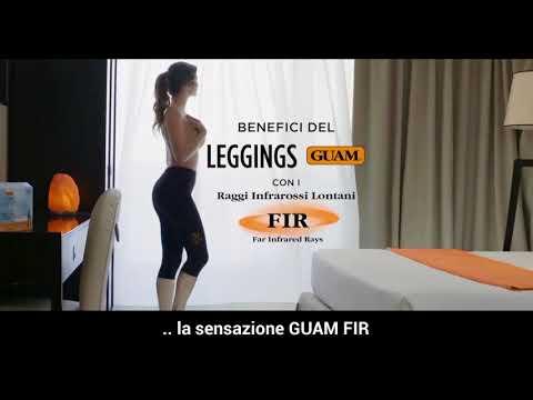 Leggings Snellenti GUAM® a pinocchietto Anticellulite