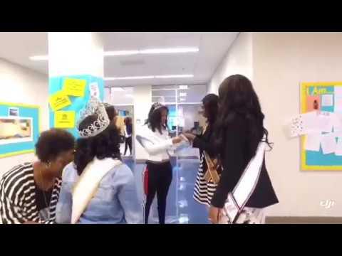 Miss HT at Benjamin E.  Mays High School