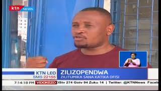 Zilizopendwa: Simu zilizotumika ofisini
